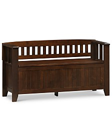 Avery Entryway Bench, Quick Ship