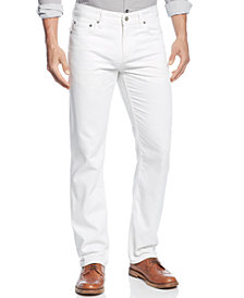 Alfani Men's Ridge Straight-Leg Jeans, Created for Macy's