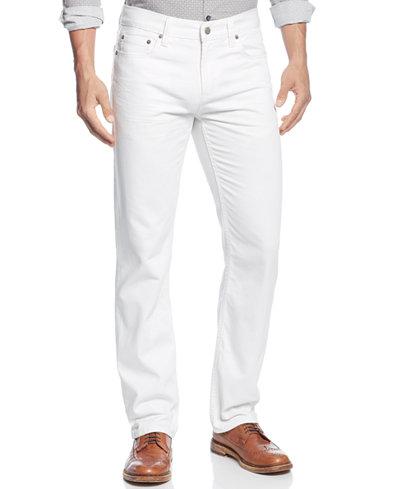 Alfani Men's Ridge Straight-Leg Jeans, Created for Macy's