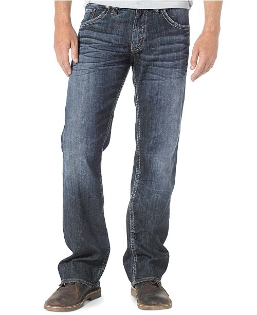 b3f7fa43 Men's Zac Relaxed Fit Straight Jeans; Silver Jeans Co. Men's Zac Relaxed  Fit Straight ...