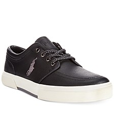 Faxon Low Leather Sneakers