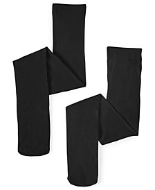 Trimfit 2-Pack Microfiber Tights, Little Girls & Big Girls