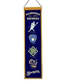 Milwaukee Brewers Heritage Banner