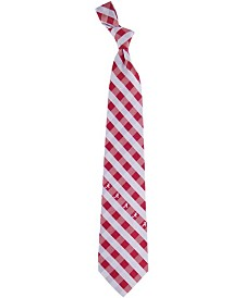 Eagles Wings Alabama Crimson Tide Checked Tie