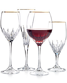 Vera Wang Wedgwood Duchesse Gold Stemware Collection