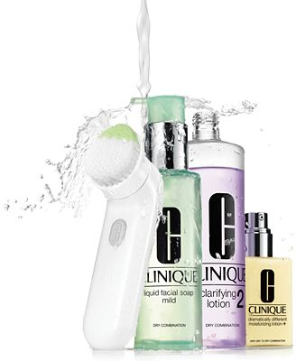 Clinique 3 Step Skin Care System For All Skin Types
