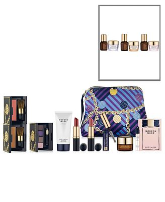 Choose a FREE 8-Pc. Gift with any Estée Lauder skin care purchase + GET MORE with $70 Estée Lauder purchase