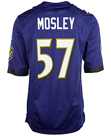 Nike Men's CJ Mosley Baltimore Ravens Game Jersey
