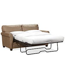 "Kaleigh 76"" Fabric Full Sleeper Sofa Bed"