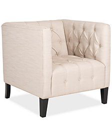 Geneva Fabric Club Chair, Quick Ship