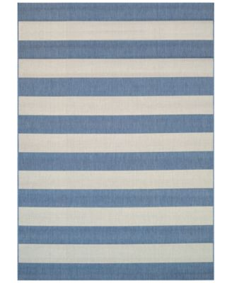 "Indoor/Outdoor Afuera Yacht Club 2'2"" x 7'10"" Area Rug"