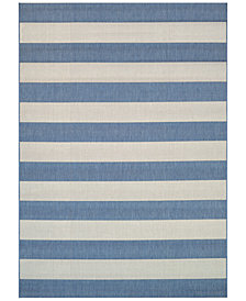 Couristan Indoor/Outdoor Afuera Yacht Club Area Rugs