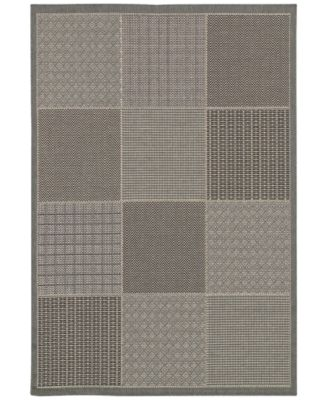 "Indoor/Outdoor Runner Rug, Monaco 2469/2213 Vistimar Grey 2'3"" x 11'9"""