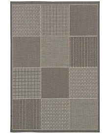 CLOSEOUT! Indoor/Outdoor Area Rugs, Monaco 2469/2213 Vistimar Grey