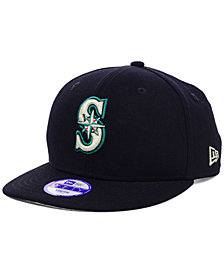 New Era Kids' Seattle Mariners 9FIFTY Snapback Cap