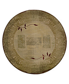 Oriental Weavers Area Rug, Generations Shadow Vine 544G 6' Round