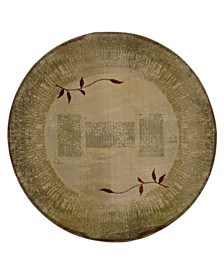 Oriental Weavers Rugs, Generations Shadow Vine 544G Round