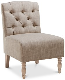 Cody Fabric Accent Chair, Quick Ship