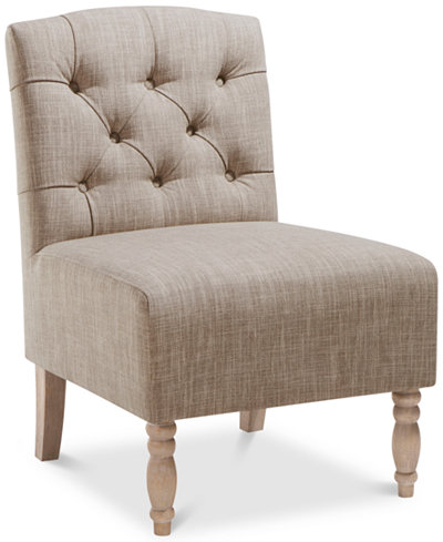 Charlotte Fabric Accent Chair, Quick Ship