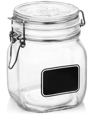 Fido Chalk Label Medium Jar, 25.25 oz.