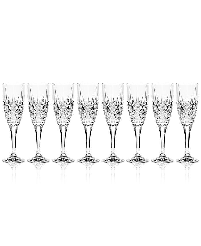 Godinger - Dublin Champagne Flutes, Set of 8