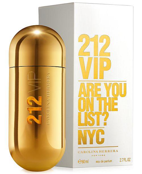 4e0c0aa9e4 Carolina Herrera 212 VIP Eau de Parfum Spray, 2.7 oz. & Reviews ...