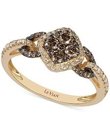 chocolate diamond rings shop chocolate diamond rings macys - Chocolate Wedding Rings