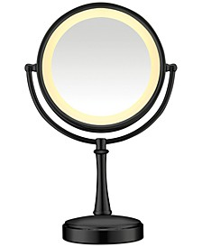 Touch Control Double-Sided Lighted Makeup Mirror