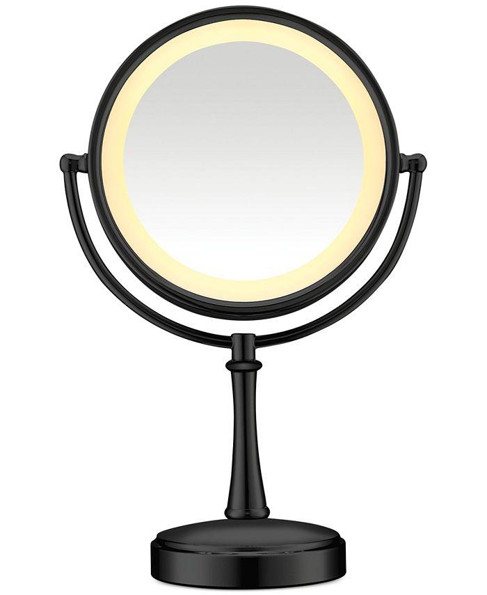 "Conair - 8"" Polished Chrome Lighted Makeup Mirror"