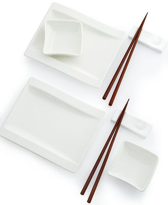 Wave Villeroy Und Boch villeroy boch wave sushi for two set serveware dining