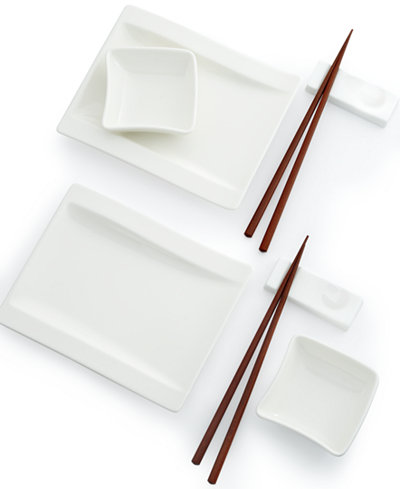 Villeroy boch new wave sushi for two set serveware for Villeroy boch wave