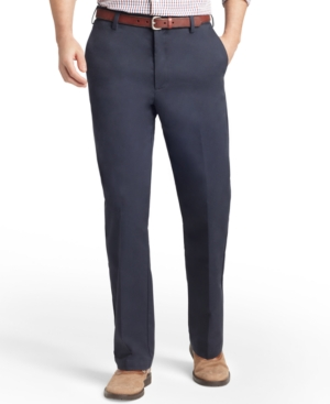Men's American Straight-Fit Flat Front Chino Pants