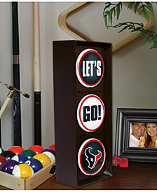 Memory Company Houston Texans Flashing Let's Go Light