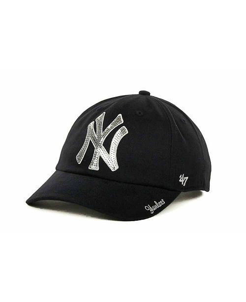 47 Brand Women s New York Yankees Sparkle Cap - Sports Fan Shop By ... 37b05ea7efd