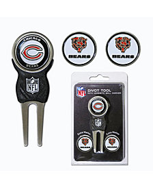 Team Golf Chicago Bears Divot Tool and Markers Set