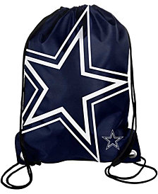 Forever Collectibles Dallas Cowboys Big Logo Drawstring Bag