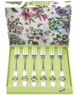 Botanic Garden Set of 6 Pastry Forks