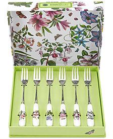 Portmeirion Botanic Garden Set of 6 Pastry Forks