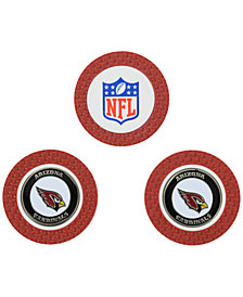 Team Golf Arizona Cardinals 3-Pack Poker Chip Golf Markers