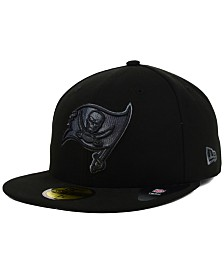 New Era Tampa Bay Buccaneers Black and Gray Basic 59FIFTY Cap