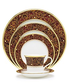"""""""Xavier Gold"""" 5-Piece Place Setting"""