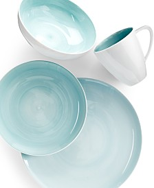 Mikasa Savona Teal Collection