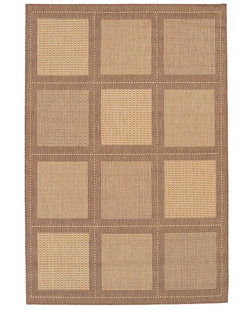 Couristan Closeout Rugs Recife Indoor Outdoor Summit Natural Cocoa