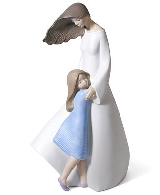 Lladro Collectible Figurine, I Love You, Mom