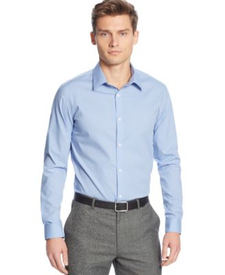 Image of Calvin Klein Men's Infinite Cool No-Iron Shirt