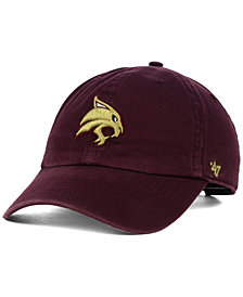 '47 Brand Texas State Bobcats NCAA Clean-Up Cap
