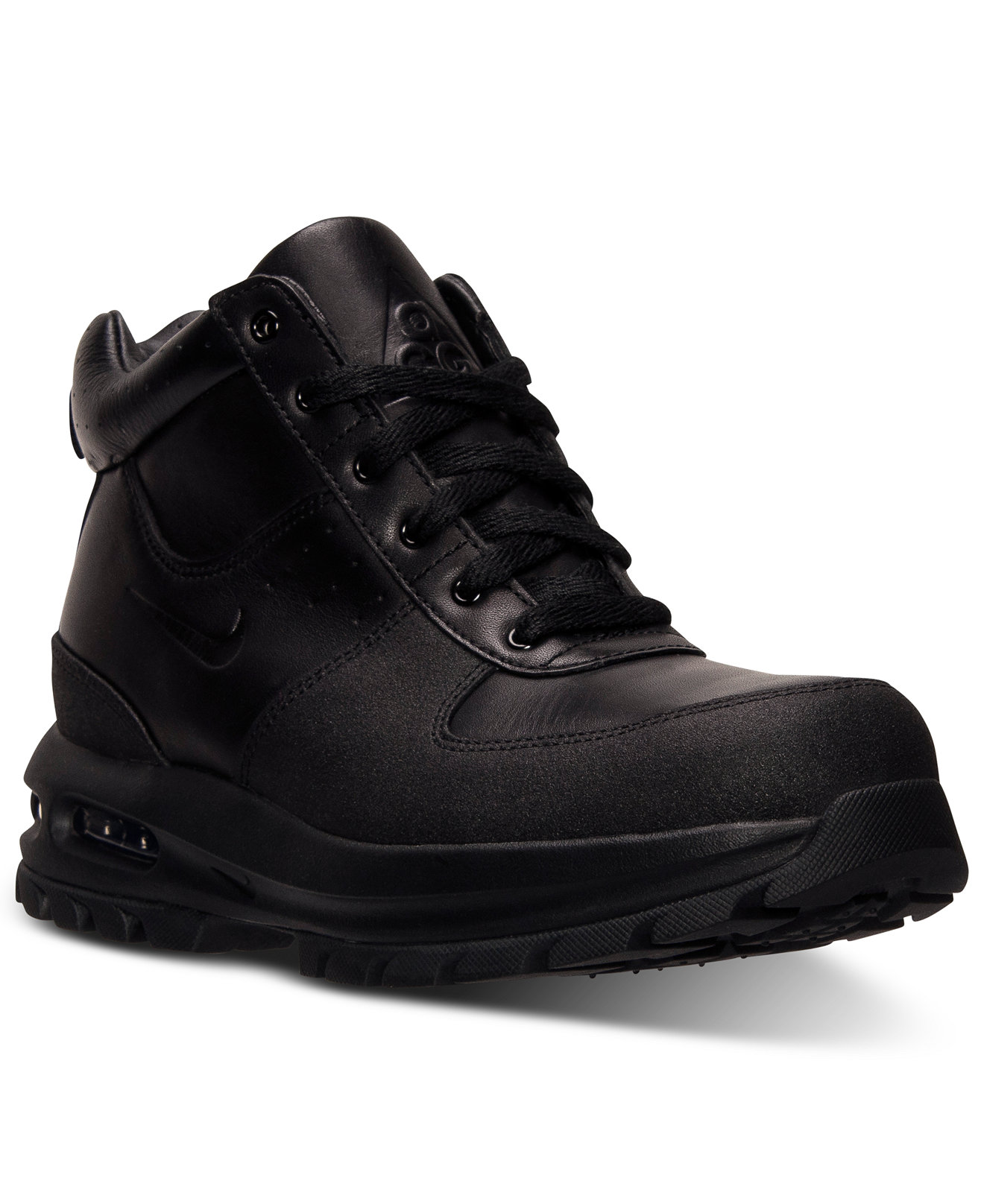 9cae7ed8da1cdb ... black nike acg air max goadome 6 boot knives . ...