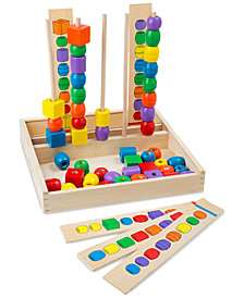 Melissa and Doug Kids' Bead Sequencing Set