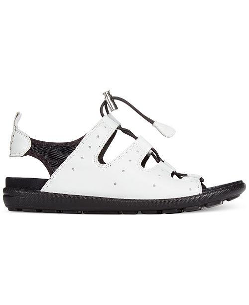 9bb6059a4e7c Ecco Women s Jab Toggle Sandals   Reviews - Sandals   Flip Flops ...