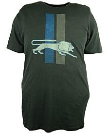 Men's Detroit Lions Retro Logo Scrum T-Shirt